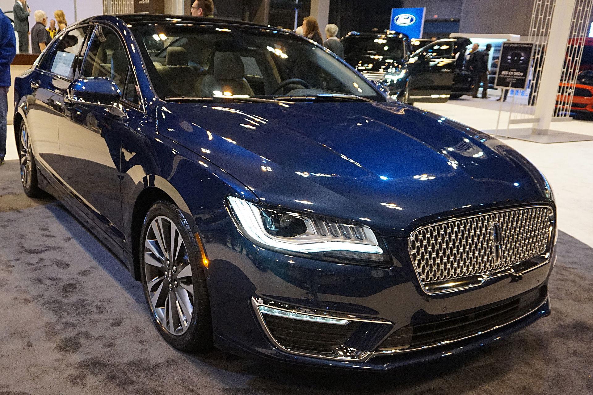 Navigator Lincoln 2014 Blue