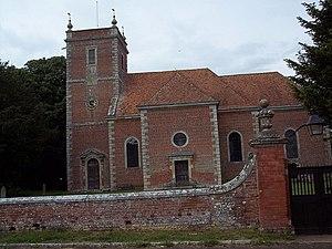 English: All Saints Church, Farley The classic...