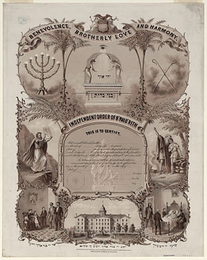 """Independent Order of B'nai B'rith"",..."