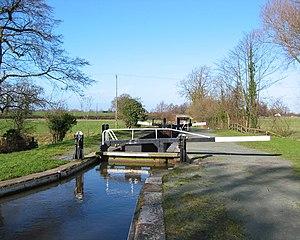 Baddiley no. 1 lock, Cheshire