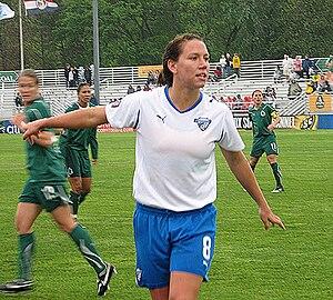 English: Lauren Cheney of the (WPS) Womens Pro...