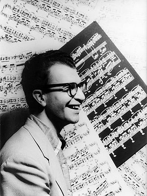 Dave Brubeck in 1954.