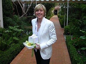Ellen DeGeneres at Hotel Bel Air in Los Angele...