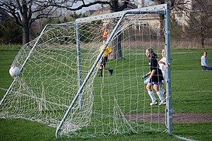 English: football goal
