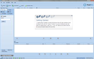 English: The free P2P software program FrostWi...