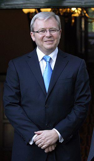 English: Australian Prime Minister Kevin Rudd