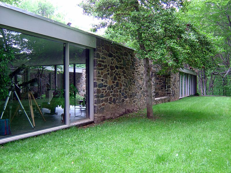 Hooper House, Baltimore, Maryland, Marcel Breuer, 1959.