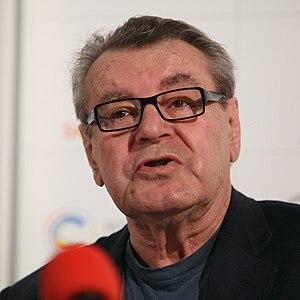 English: Czech/american film director Miloš Fo...