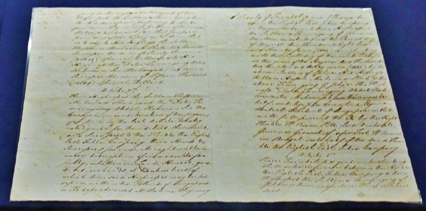 National Gallery Singapore - Joy of Museums - 1824 Treaty of Friendship and Alliance