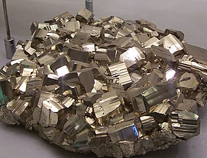 Pyrite or foolsgold