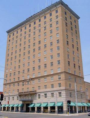 English: San Angelo Cactus Hotel, old Hilton.