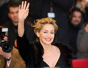 Sharon Stone at the Premiere of