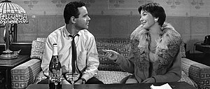 English: Screenshot of Jack Lemmon and Shirley...