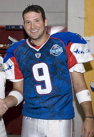 Tony Romo of the Dallas Cowboys before the 200...