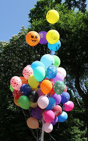 English: Toy balloons Русский: Воздушные шарики