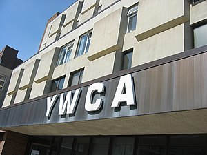 English: The exterior of the YWCA of Calgary b...