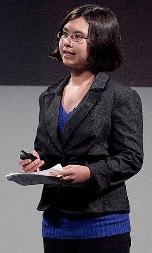 English: Adora Svitak speaking at The UP Exper...
