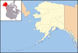1957 Andreanof Islands earthquake is located in Alaska