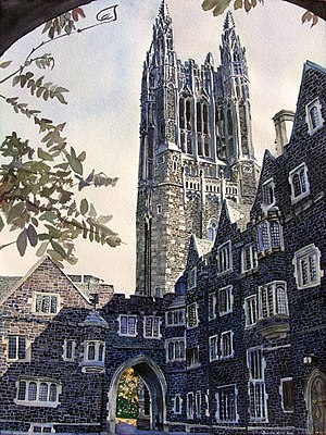 Cleveland Tower, Princeton University, Old Gra...