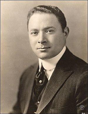 English: David Sarnoff, in 1922 he was the gen...