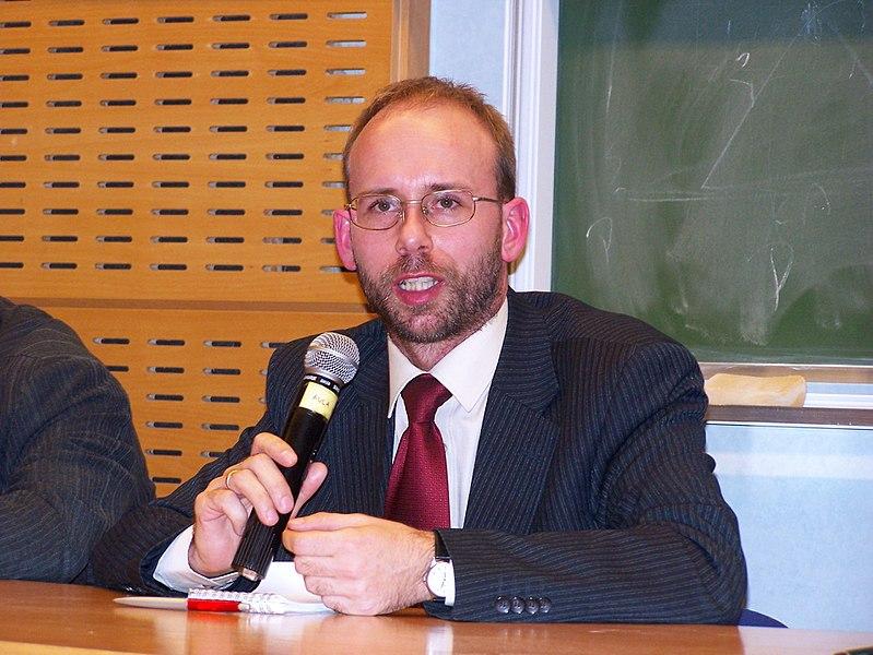 English: Jerzy Gorzelik - leader of Silesian Autonomy Movement. Polski: Jerzy Gorzelik - doktor, historyk sztuki, przewodniczący Ruchu Autonomii Śląska.