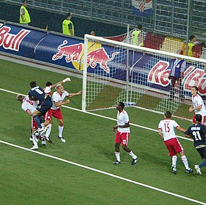 Champions League Qualifier 3rd leg FC Salzburg...