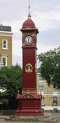 Highbury Clock is located just north of Highbu...