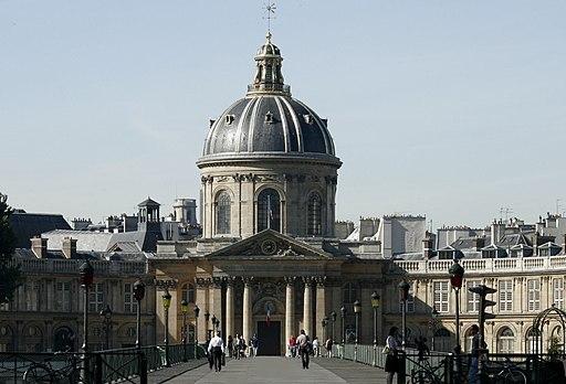 Institut de France - Académie française et pont des Arts