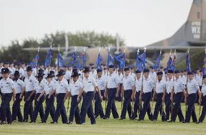 English: LACKLAND AIR FORCE BASE, Texas -- Air...