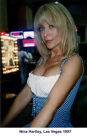Nina Hartley at Adult Video Show, within the V...