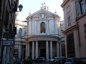 Italiano: Chiesa di S. Maria della Pce a Roma,...