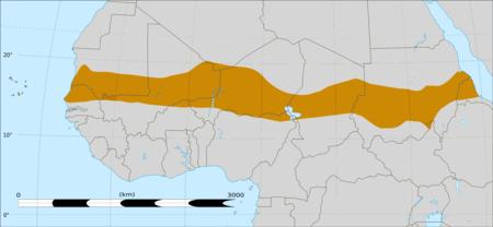 mappa Sahel