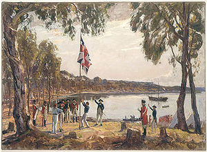 English: The Founding of Australia, 26 January...