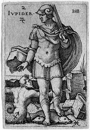 Beham, (Hans) Sebald (1500-1550): Jupiter, fro...