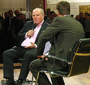 English: Uli Hoeness and Klaus Gronewald in Ta...