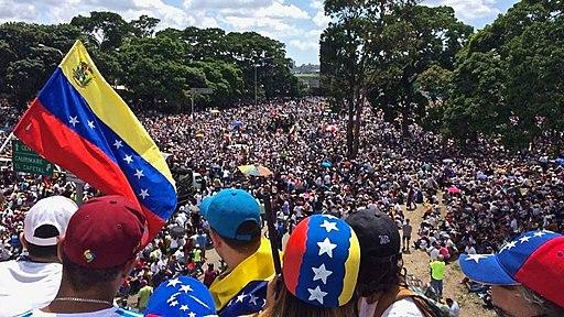 We Are Millions march Venezuela