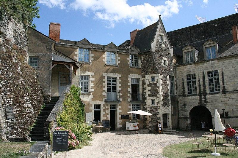 Angers - Château - Logis du gouverneur