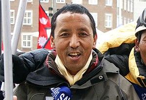Apa Sherpa (born Lhakpa Tenzing Sherpa), Nepal...