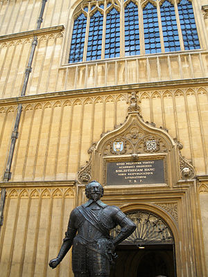 Bodleian Library in Oxford, England