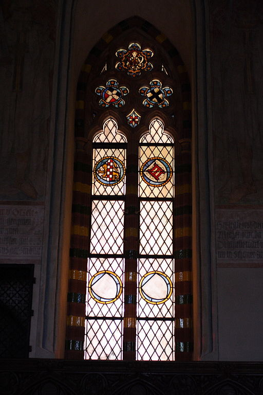 FileCastle In Malbork Stained Glass Window In Main