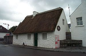 English: Cong, Co. Mayo: 'The Quiet Man' Cotta...