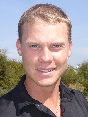 Danny Willet at KLM Open 2009