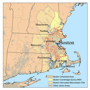 Map of Greater Boston