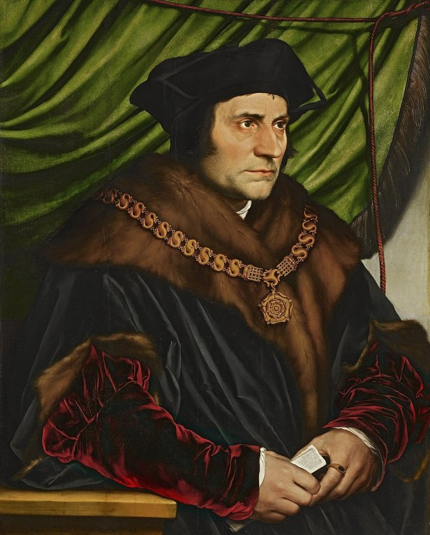 """Sir Thomas More"" by Hans Holbein the Younger"