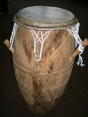 a Kpanlogo (Percussioninstrument from Ghana)