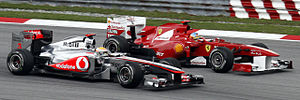 English: Formula One 2011 Rd.2 Malaysian GP: F...