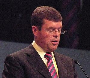 Paul Burstow MP addressing a Liberal Democrat ...