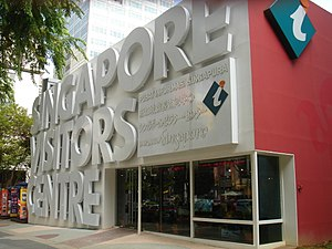 Singapore Visitors Centre along Orchard Road, ...