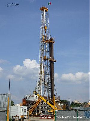 Español: Torre Petrolera Poza Rica