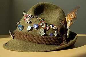 English: Chris Benham's Tyrolean Hat